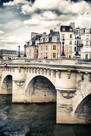 Le Pont Neuf - Paris - France Photographic Print by Philippe Hugonnard
