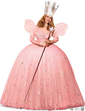 Glinda the Good Witch - Wizard of OZ 75th Anniversary Lifesize Standup Cardboard Cutouts
