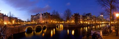 Keizergracht Canal, Leidsegracht Canal, South Holland, Amsterdam, Netherlands Lámina fotográfica por Jim Engelbrecht