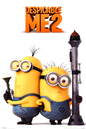 Despicable Me 2 (Armed Minions) 高画質プリント