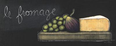 Chalkboard Menu III - Fromage Posters by Emily Adams