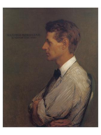 Portrait of Maxfield Parrish Premium Giclee Print by Kenyon Cox