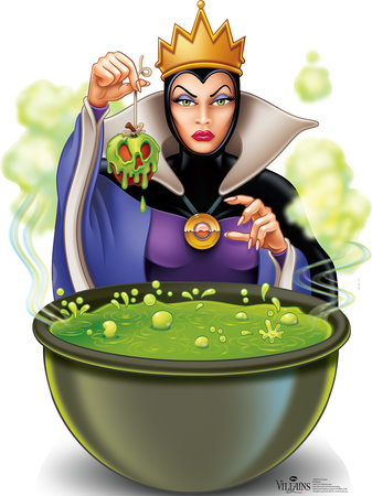 Evil Queen - Snow White Disney Villain Lifesize Standup Cardboard Cutouts