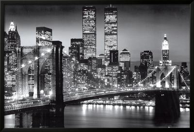 New York Manhattan Black - Berenholtz Prints