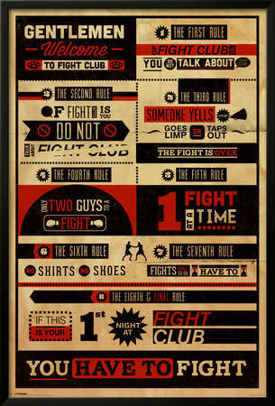 Fight Club - Rules Photo