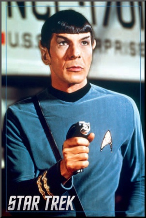 Star Trek- Spock Mounted Print