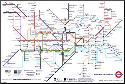 Kort Over London Underground Bexdyie