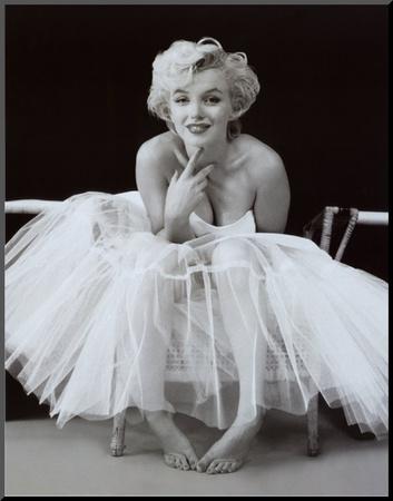 Marilyn Monroe Mounted Print by Milton H. Greene