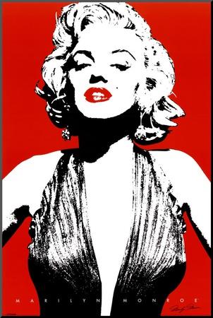 Marilyn Monroe Kunst op hout