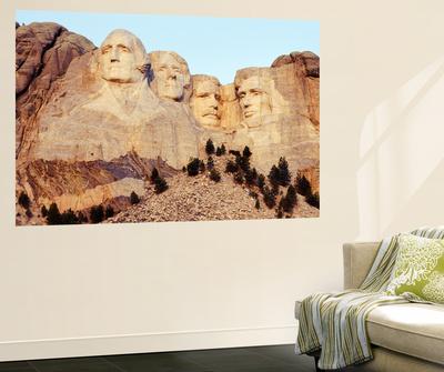 View of Mount Rushmore National Memorial, Keystone, South Dakota, USA Print by Paul Souders