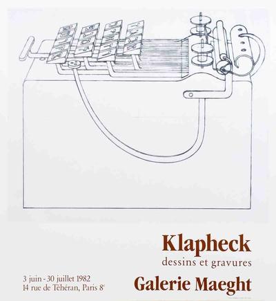 Dessins et Gravures Prints by Konrad Klapheck