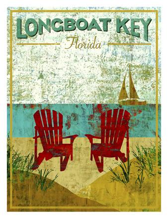 Longboat Key Giclee Print by Stella Bradley