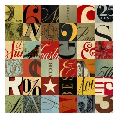Collage Giclee Print by Stella Bradley