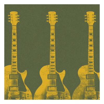 Guitars 4 Giclee Print by Stella Bradley