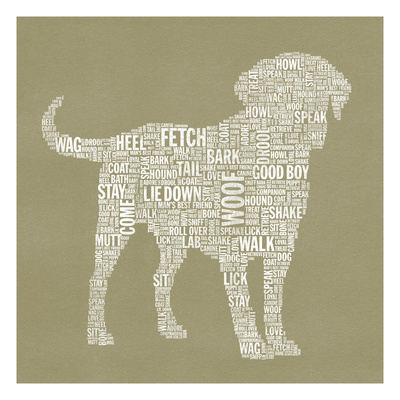 Dog Type 1A Giclee Print by Stella Bradley