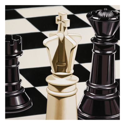 Chess Giclee Print by Ray Pelley
