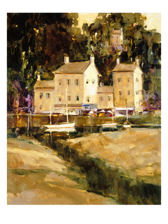 Como Reflections Giclee Print by Ted Goerschner