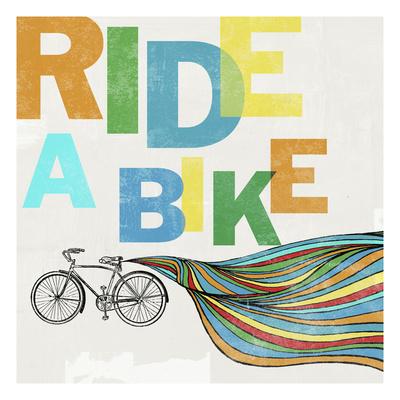 Bike, Ride 1c Giclee Print by Stella Bradley