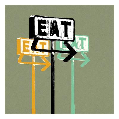 Eat Giclee Print by Stella Bradley