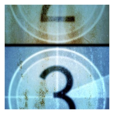 Film Countdown 4 Giclee Print by Stella Bradley