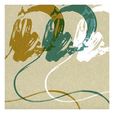 Headphones Giclee Print by Stella Bradley