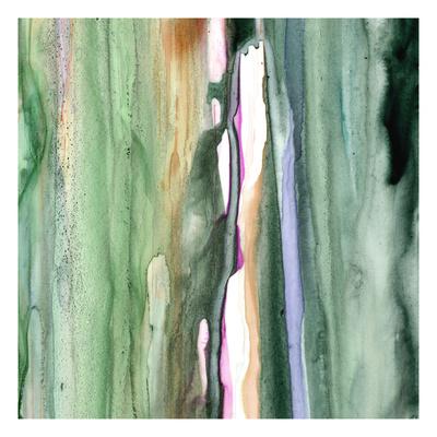 Spring Green Splash B Giclee Print by Tracy Hiner