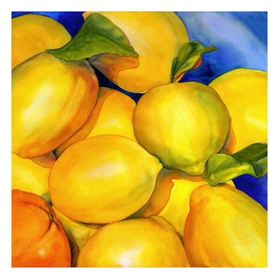 Zest For Life Giclee Print by Terri Hill