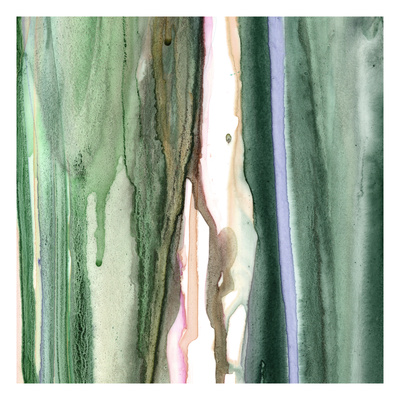 Spring Green Splash A Giclee Print by Tracy Hiner