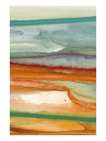 Sunset Splash A Giclee Print by Tracy Hiner