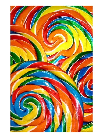 Multi Pops 3 Giclee Print by Tracy Hiner