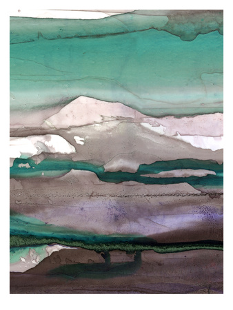 Ink Drips B Giclee Print by Tracy Hiner
