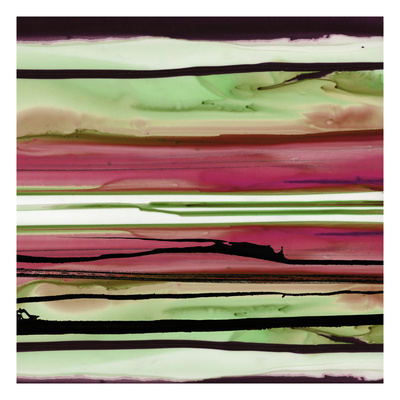 Colorful Ink Wash 1A Giclee Print by Tracy Hiner