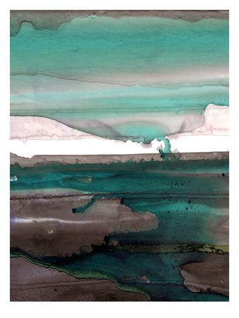 Ink Drips A Giclee Print by Tracy Hiner