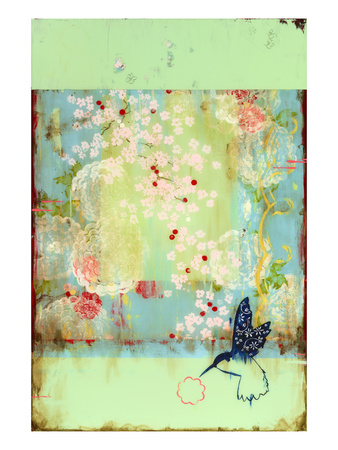 Cherry Blossoms Giclee Print by Kathe Fraga