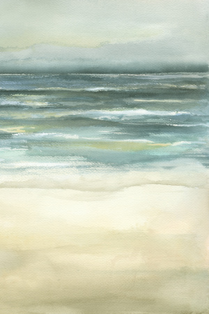 Tranquil Sea III Posters by Jennifer Goldberger