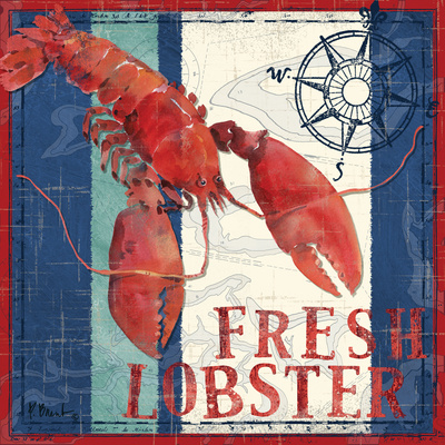 Deep Sea Lobster Posters by Paul Brent