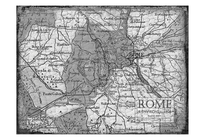 Environs ROME Poster by Carole Stevens