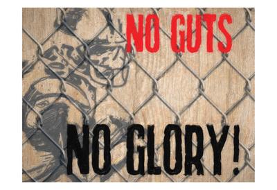 No Guts Prints by Taylor Greene