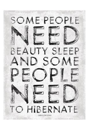 Hibernate Posters by Jace Grey