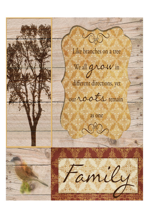 Family Tree Prints by Taylor Greene
