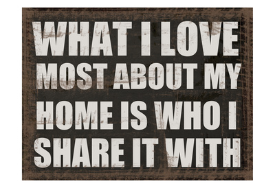 What I Love Print by Taylor Greene