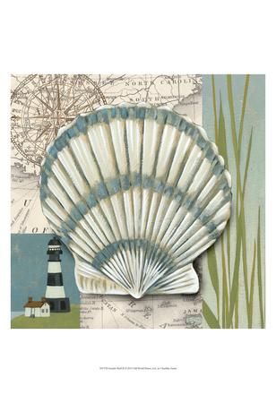 Seaside Shell II Print by Chariklia Zarris