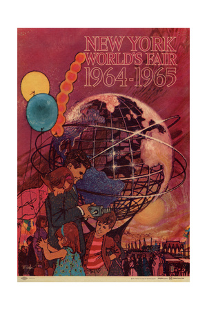 World's Fair: New York World's Fair 1964-1965 Lámina giclée