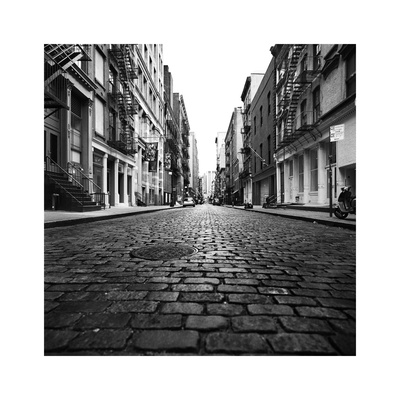 Mercer Street Photographic Print by Evan Morris Cohen