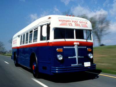 National Postal Museum: Highway Post Office Bus Photographic Print