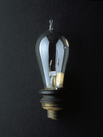 National Museum of American History - Science and Inventions: Light Bulb Photographic Print