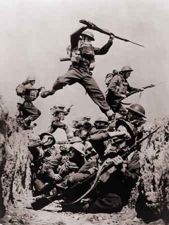 British Black Watch Regiment in Training, 1940 Photo