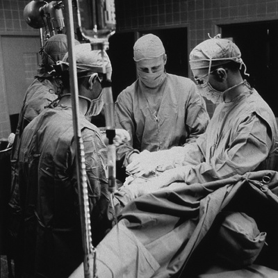 Open-Heart Surgery at the National Institute of Health, 1955 Foto
