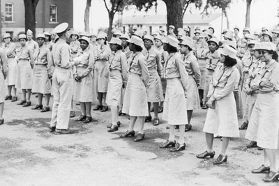 African Americans in the Women's Army Auxiliary Corps in 1941 Photo
