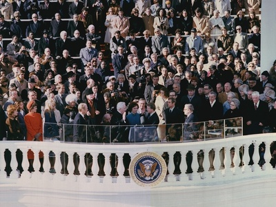 Jimmy Carter's 1976 Inauguration East Portico of the U. S. Capitol Photo